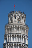 κλίνοντας πύργος της Πίζα&sig Στοκ εικόνα με δικαίωμα ελεύθερης χρήσης