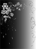 αφηρημένο μαύρο λευκό ανα&sig Στοκ φωτογραφία με δικαίωμα ελεύθερης χρήσης