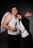 Sig. Angel e sig.ra Angel Fotografia Stock Libera da Diritti