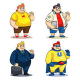 Sig. Bigger Characters illustrazione di stock
