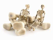 Sig. e sig. Bones Fotografia Stock Libera da Diritti