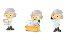 Sig. Genius 3 illustrazione di stock