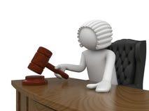 Sig. Judge Immagini Stock
