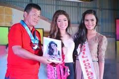 Sig.na Daliao Miss Photogenic 2014 immagini stock libere da diritti