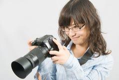Sig.na Photographer Fotografia Stock Libera da Diritti