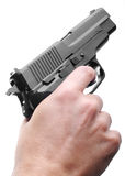 Sig P226 handgun Royalty Free Stock Photography
