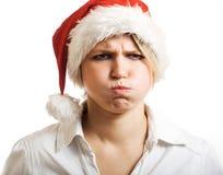 Sig.ra arrabbiata Claus. Fotografia Stock Libera da Diritti