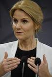 Sig.ra Helle Thonring-Schmidt PM danese Immagine Stock Libera da Diritti