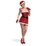Sig.ra Santa Fotografia Stock