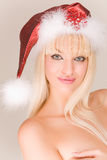 Sig.ra sensuale Santa Fotografie Stock
