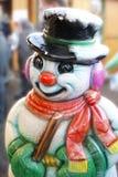 Sig. Snowman Immagini Stock