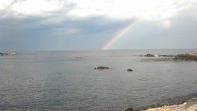 Siga el arco iris Fotos de archivo libres de regalías
