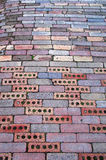 Siga a estrada do tijolo Imagens de Stock Royalty Free