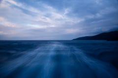Siga o trajeto do mar Imagem de Stock Royalty Free