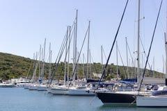 Sigacikmarine - Izmır - Turkije royalty-vrije stock fotografie