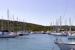 Sigacikmarine - Izmır - Turkije stock foto