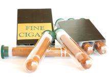 Sigaren Royalty-vrije Stock Foto's