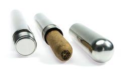 Sigaren en toebehoren Royalty-vrije Stock Foto's