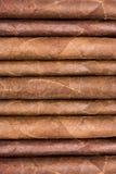 Sigaren op een rij Stock Afbeelding