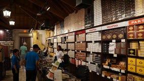 Sigarenfabriek in La Romana, Dominicaanse Republiek Royalty-vrije Stock Afbeelding