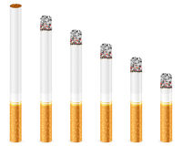 Sigaret stock illustratie