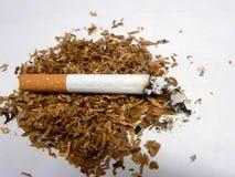 Sigaret en tabak Stock Fotografie