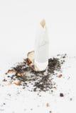 Sigaret quebrado Imagenes de archivo