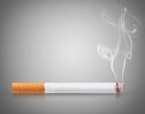 Sigaretbrandwonden stock foto's