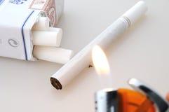 Sigaretta Fotografia Stock Libera da Diritti