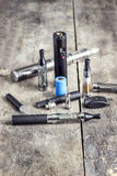 Sigaretta elettronica Immagini Stock Libere da Diritti