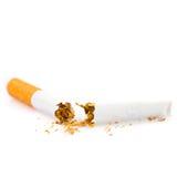 Sigaretta rotta Immagini Stock