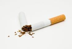 Sigaretta rotta Fotografie Stock Libere da Diritti