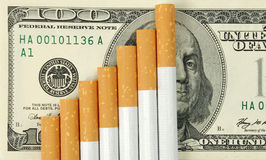 Sigarette Immagini Stock