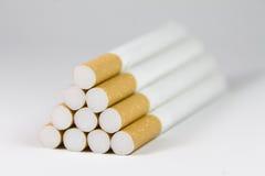 Sigarette della piramide Immagini Stock Libere da Diritti