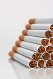 Sigarette in pila Fotografia Stock Libera da Diritti