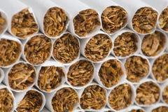 Sigarette, priorità bassa di fumo Immagini Stock
