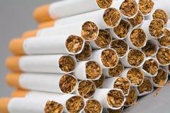 Sigarette, priorità bassa di fumo Fotografie Stock Libere da Diritti