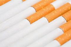 Sigarette, priorità bassa di fumo Fotografie Stock