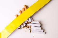 Sigaretten Royalty-vrije Stock Afbeeldingen