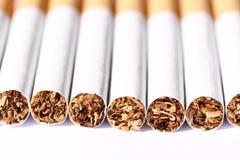 Sigaretten A Stock Foto