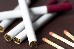 Sigaretten Royalty-vrije Stock Afbeelding