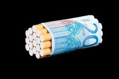 Sigaretten Stock Foto's