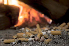 Sigaretten Royalty-vrije Stock Fotografie