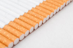 Sigarettengroepering Royalty-vrije Stock Afbeeldingen