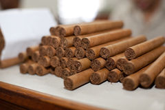 sigari Fotografie Stock Libere da Diritti