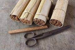 sigari cubani Mano-rotolati, Avana Fotografie Stock