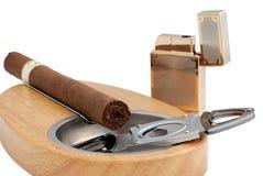 Sigaro cubano Immagini Stock
