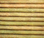 Sigaro del tabacco in foglia di struttura fotografia stock