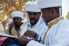 Sigd - äthiopische Juden Holyday Lizenzfreie Stockfotos