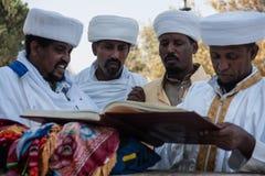 Sigd - äthiopische Juden Holyday Stockbilder